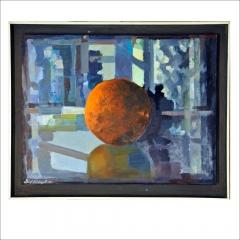 """15. """"Röd frukt"""". Oljemålning av Leif Wideryd. © LW BUS"""